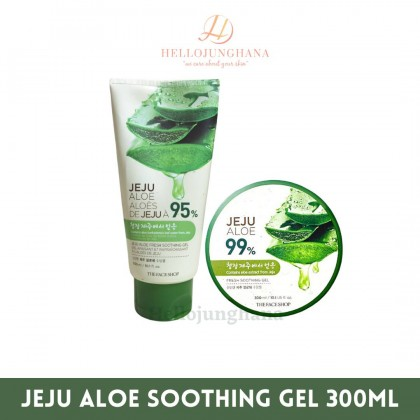 THE FACE SHOP- Jeju Aloe Fresh Soothing Gel (300 ml)