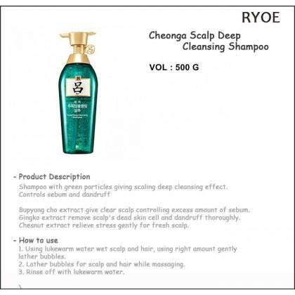 RYO - Scalp Deep Cleansing Shampoo ( 500ml )