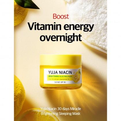 SOME BY MI - Yuja Niacin Brightening Sleeping Mask ( 60g )
