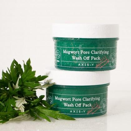 AXIS - Y Mugwort Pore Clarifying Wash Off Pack ( 100ml )
